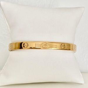Vtg. Charles Revson & Aldo Cipullo Love bracelet